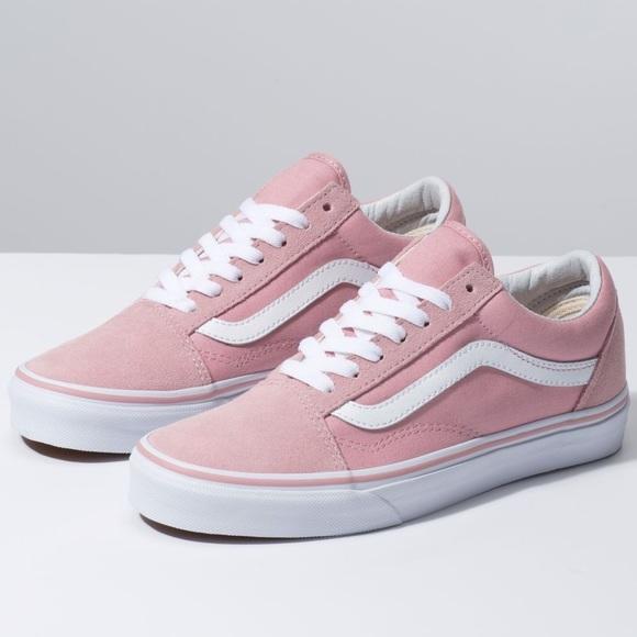 Vans Shoes | Pink Old Skool Vans | Poshmark